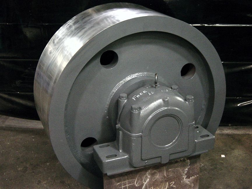 Bodine Electric of Danville is capable of repairing trunnion rolls, along with other industrial mechanical equipment, in its repair shop.